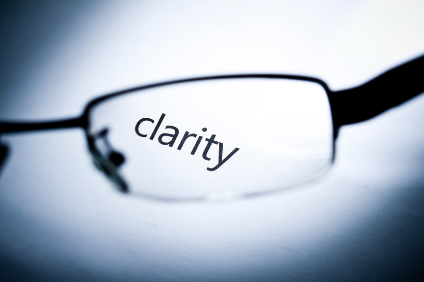 Seek Clarity to Get Results